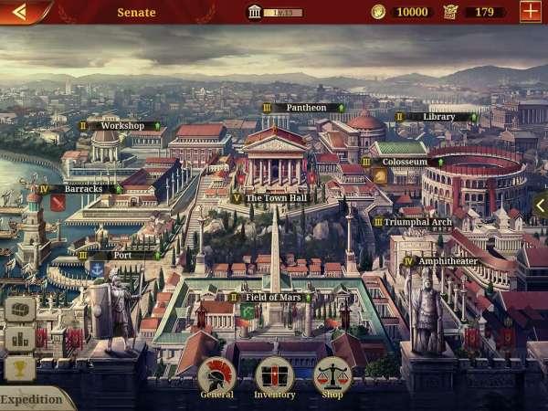 دانلود Great Conqueror:Rome 1.7.0 بازی اندروید فتح کننده: رم