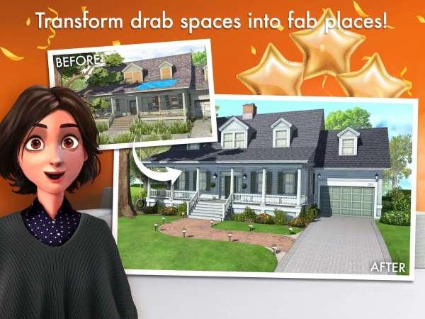 دانلود Home Design Makeover 3.3.3g بازی اندروید شبیه ساز طراحی خانه + مود