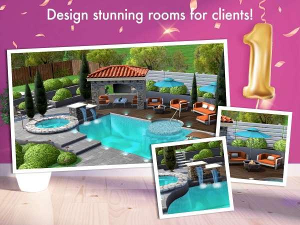 دانلود Home Design Makeover 3.1.2g بازی اندروید شبیه ساز طراحی خانه + مود