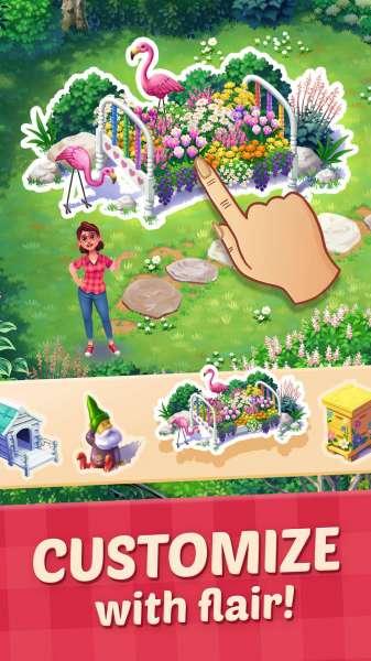 دانلود Lily's Garden 1.91.3 بازی اندروید مدیریتی باغ لیلی + مود