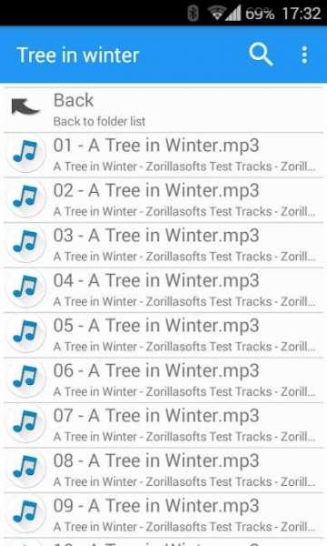 دانلود Music Folder Player 2.6.1 نرم افزار پلیر پوشه اندروید