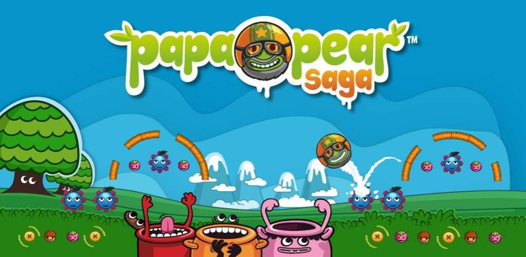 دانلود Papa Pear Saga 1.106.1 بازی اندروید قصه پاپا گلابی + مود