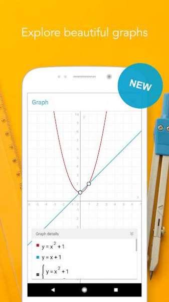 دانلود Photomath – Camera Calculator 7.6.2 برنامه حل کلیه مسائل ریاضی در اندروید