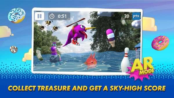 دانلود Sky Whale 3.1.1 بازی اندروید زیبای آرکید نهنگ آسمان + مود