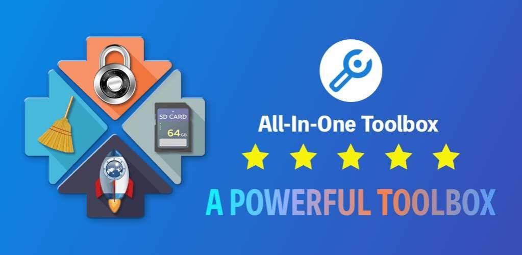 دانلود All-In-One Toolbox: Cleaner & Speed Booster PRO 8.1.5.8.5 جعبه ابزار قدرتمند اندروید + پلاگین ها