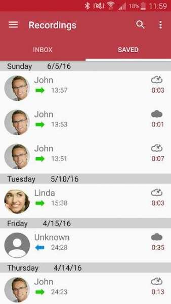 دانلود Automatic Call Recorder Pro 6.11.2 برنامه اندروید ضبط خودکار مکالمات