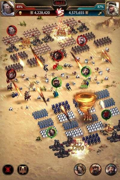 دانلود Conquerors: Golden Age 3.8.0 بازی اندروید فاتحان در عصر طلایی + دیتا