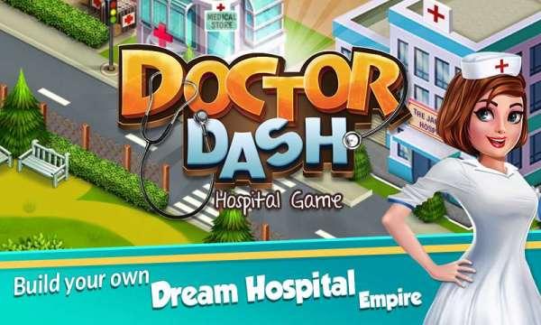 دانلود Doctor Dash : Hospital Game 1.57 بازی اندروید شبیه سازی دکتر و مدیریت بیمارستان + مود