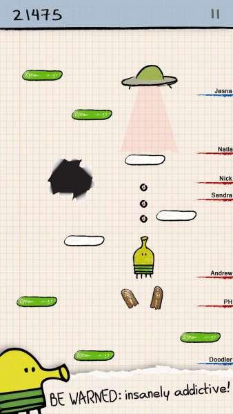 دانلود Doodle Jump 3.11.7 بازی آرکید و پرطرفدرار پریدن دودل اندروید + مود