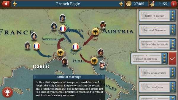 دانلود European War 6: 1804 1.2.14 بازی اندروید جنگ اروپا