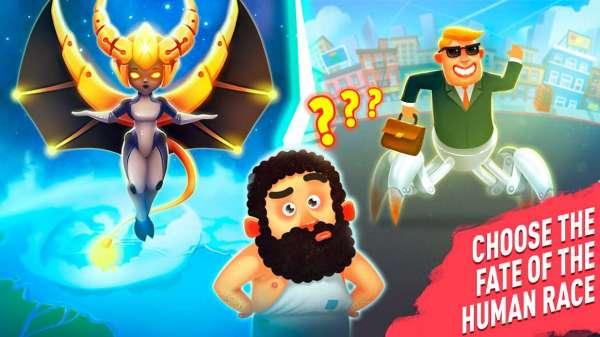 دانلود Human Evolution Clicker Game: Rise of Mankind 1.7.4 بازی اندروید ظهور و تکامل بشر + مود