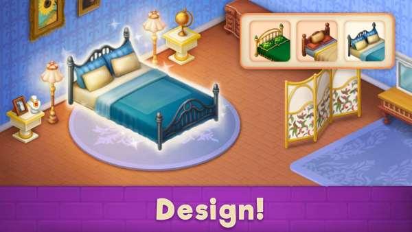 دانلود Mansion Blast 2.35.680at بازی اندروید طراحی دکور داخلی عمارت بزرگ + مود