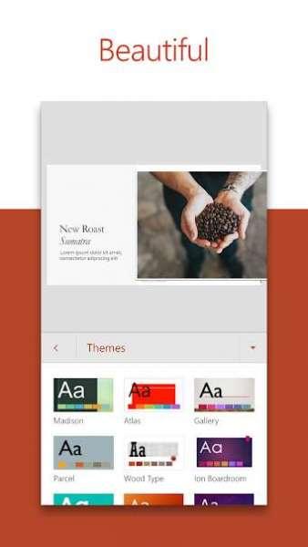 دانلود Microsoft PowerPoint: Slideshows and Presentations 16.0.14430.20246 نرم افزار مایکروسافت پاورپوینت برای اندروید