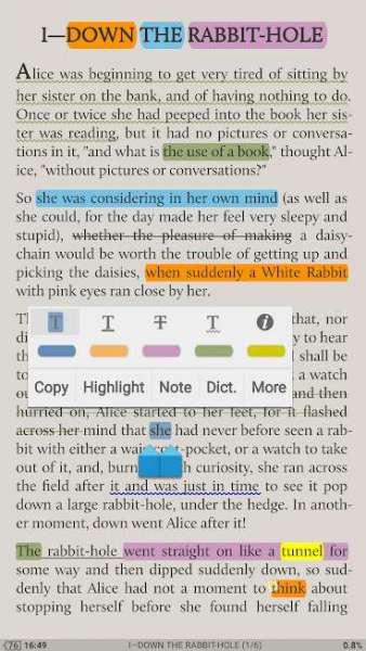 دانلود Moon+ Reader Pro 6.7 برنامه اندروید کتاب خوان مون ریدر + مود
