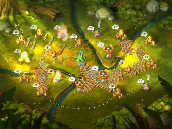 دانلود Mushroom Wars 2 4.7.6 بازی اندروید اکشن جنگ قارچ ها 2 + دیتا