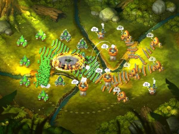 دانلود Mushroom Wars 2 4.3.0 بازی اندروید اکشن جنگ قارچ ها 2 + دیتا