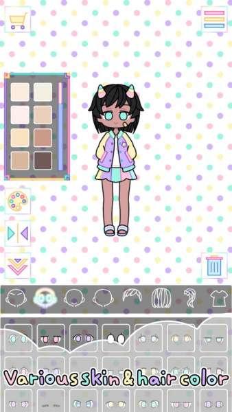 دانلود Pastel Girl 2.4.3 بازی اندروید محبوب دختر پاستیلی + مود