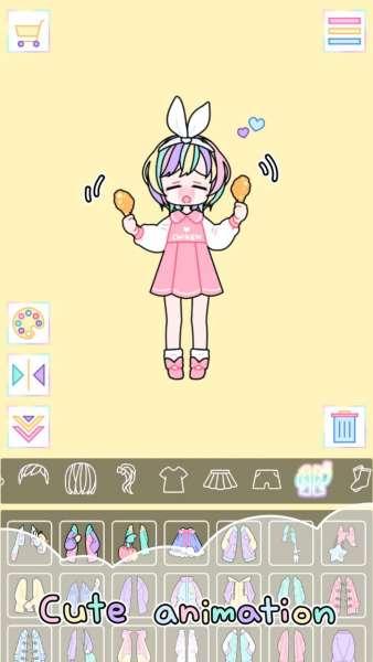 دانلود Pastel Girl 2.5.4 بازی اندروید محبوب دختر پاستیلی + مود