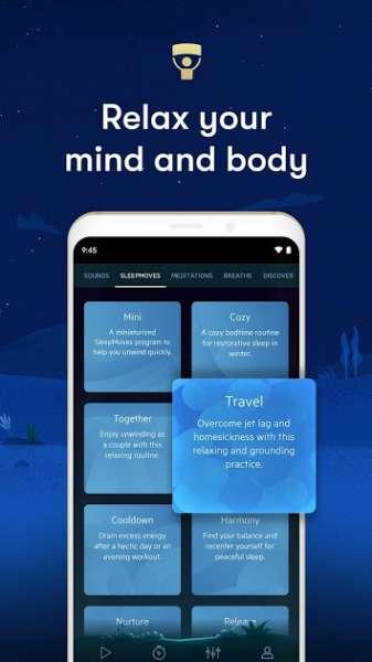دانلود Relax Melodies Premium Sleep Sounds 12.2.1 برنامه مجموعه موزیک و ملودی های آرامبخش اندروید