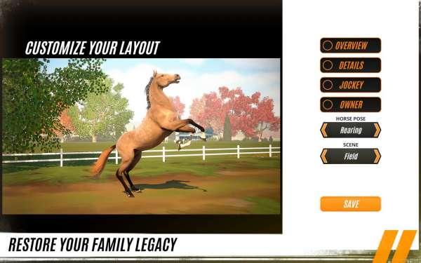 دانلود Rival Stars Horse Racing 1.22.1 بازی اندروید ستاره های مسابقات اسب سواری + مود + دیتا