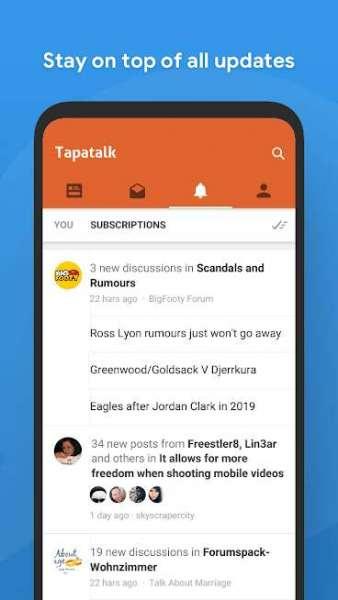 دانلود Tapatalk – 200,000+ Forums VIP 8.7.3 نرم افزار اندروید تاپاتالک برای مشاهده انجمن ها