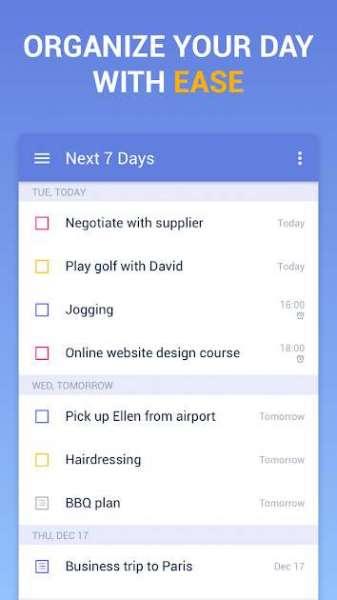 دانلود TickTick To Do List with Reminder Day Planner PRO 5.9.4.1 برنامه مدیریت کارهای روزانه اندروید