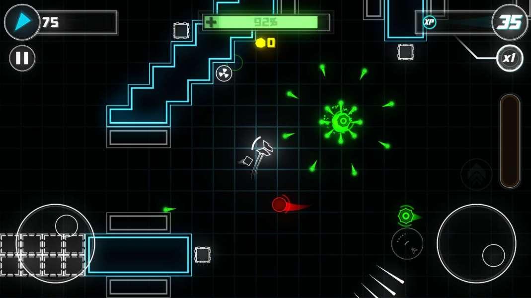 دانلود Turbotron 1 بازی اندروید اکشن و خاص توربوترون