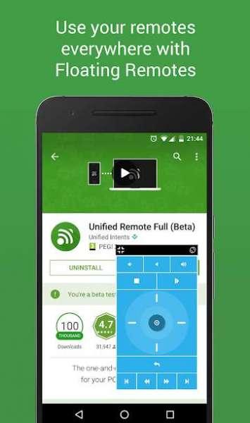 دانلود Unified Remote Full 3.16.3 برنامه کنترل کامپیوتر با گوشی اندروید