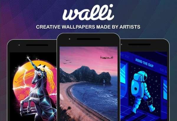 دانلود Walli Wallpapers HD Full 2.8.2+147 مجموعه تصاویر نوآورانه بک گراند اندروید