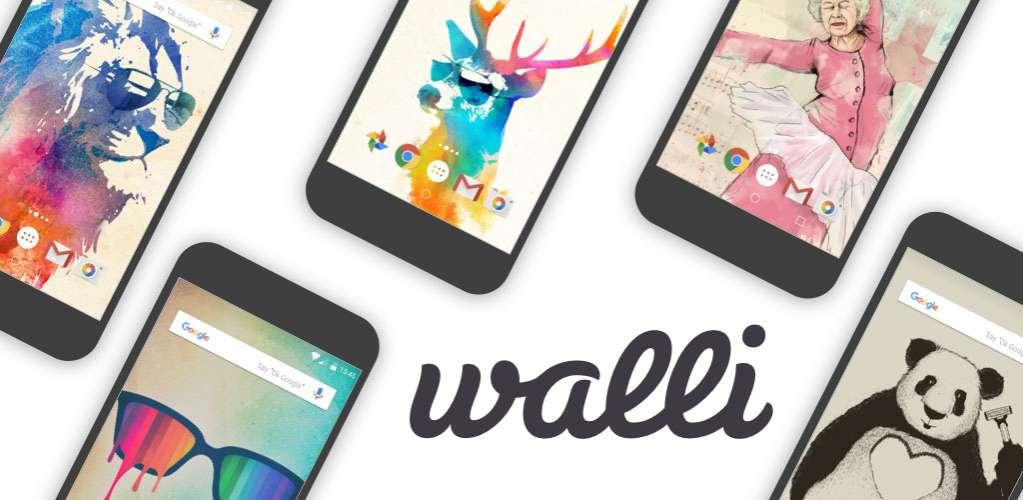 دانلود Walli Wallpapers HD Full 2.7.9-124 مجموعه تصاویر نوآورانه بک گراند اندروید