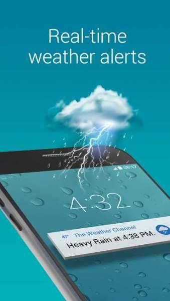دانلود The Weather Channel 10.37.0 نرم افزار اندروید کانال هواشناسی
