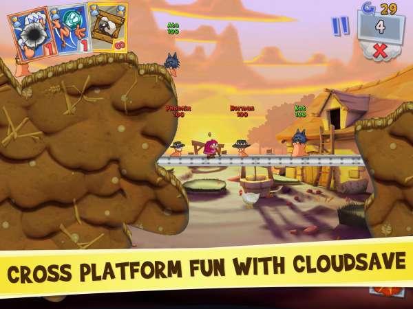 دانلود Worms 3 2.1.705708 بازی اکشن و آرکید نبرد کرم ها 3 اندروید + مود + دیتا