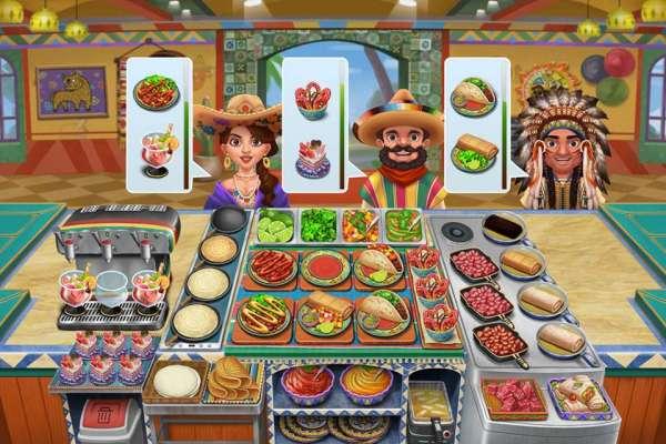 دانلود Crazy Cooking – Star Chef 2.0.3 بازی بسیار زیبای پخت پز و ستاره آشپزی اندروید + مود