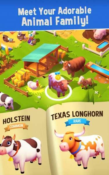دانلود FarmVille 3 – Animals 1.4.12041 بازی شبیه ساز مزرعه داری حیوانات 3 اندروید + مود