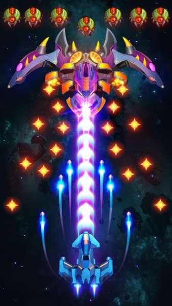 دانلود Galaxy Invaders: Alien Shooter 1.6.0 بازی اکشن مهاجمان کهکشان اندروید