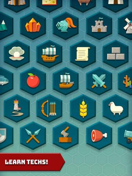 دانلود Hexonia 1.1.30 بازی استراتژی و زیبای هگزونیا اندروید + مود