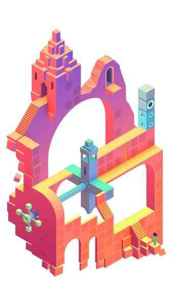 دانلود Monument Valley 2 1.3.15 بازی ماجرایی فکری زیبای دره یاد بود 2 اندروید + دیتا