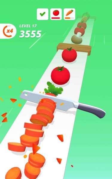 دانلود Perfect Slices 1.3.6 بازی زیبای آرکید برش های مساوی اندروید + مود