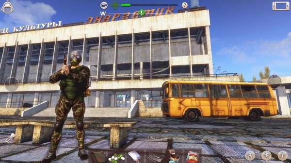 دانلود Radiation City 1.0.2.32 بازی اکشن زیبای شهر شیمیایی اندروید + مود + دیتا