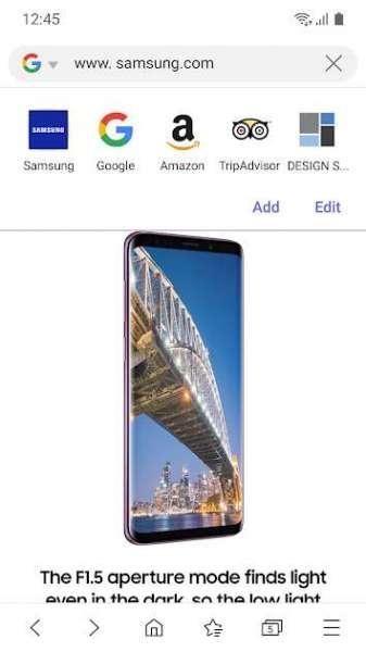 دانلود Samsung Internet Browser 13.0.1.64 مرورگر اینترنت سامسونگ برای اندروید