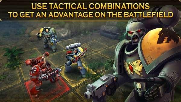 دانلود Warhammer 40,000: Space Wolf 1.4.34 بازی اکشن و معروف وار همر و گرگ فضایی اندروید + دیتا