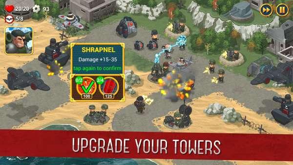 دانلود World War 2: Offline Strategy 1.7.463 بازی استراتژی و برج دفاعی جنگ جهانی دوم اندروید + مود