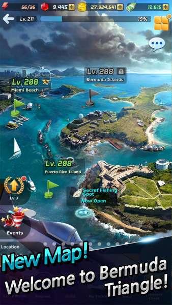 دانلود Ace Fishing: Wild Catch 6.6.2 بازی ماجراجویی ماهیگیری تک اندروید