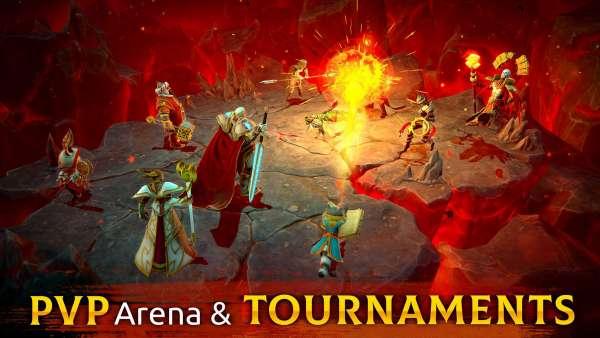 دانلود Age of Magic 1.36.1 بازی نقش آفرینی خارق العاده عصر سحر و جادو اندروید