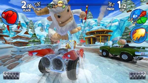 دانلود Beach Buggy Racing 2 2021.09.02 بازی مسابقات ماشین سواری ساحلی 2 اندروید + مود