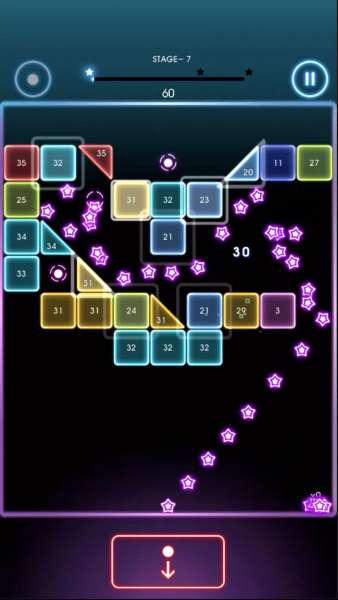 دانلود Bricks Breaker Quest 1.0.90 بازی آرکید و زیبای تلاش برای شکستن آجر اندروید + مود