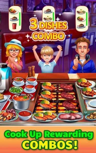 دانلود Cooking Craze 1.69.1 بازی آشپزی دیوانه وار اندروید + مود