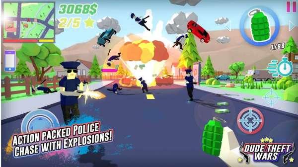 دانلود Dude Theft Wars 0.87SC بازی اکشن نبرد سارقین اندروید + مود
