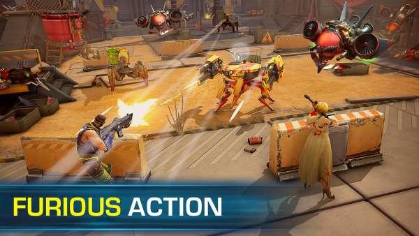 دانلود Evolution 2: Battle for Utopia 0.658.85236 بازی تیراندازی سیر تکاملی 2 نبرد برای شهر اندروید + مود + دیتا
