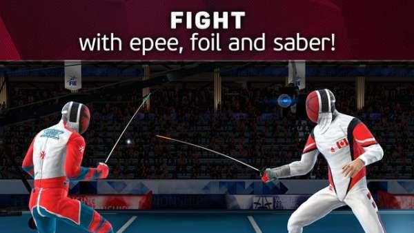 دانلود FIE Swordplay 2.65.9477 بازی ورزشی مسابقات شمشیر زنی اندروید + مود